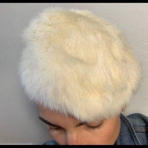 Vintage Fur Cap circa 1950